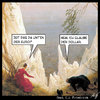 Cartoon: Absturz (small) by Anjo tagged euro dollar krise finanzkrise abwertung rating caspar david friedrich