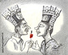 Cartoon: Crown Of Love (small) by indika dissanayake tagged love