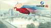 Cartoon: Super-AL flys over Belfast city (small) by Super-AL tagged belfast