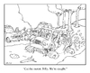Cartoon: bogged down (small) by creative jones tagged mudding truck