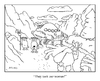 Cartoon: epic viking cartoon (small) by creative jones tagged viking,abduction,alien