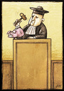 Cartoon: crisis (small) by Giacomo tagged crisis,economy,judge,justice,money,box,pork,giacomo,cardelli,jack,lombrio