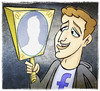 Cartoon: zuckerbook (small) by Giacomo tagged zuckerbook mark zuckerberg facebook mirror anonymous identity