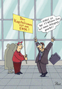 Cartoon: Kapitalismus am Ende (small) by POLO tagged kapitalismus,banker,protest