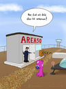 Cartoon: nebenan (small) by fcartoons tagged nebenan,next,door,alien,area51,area,usa,ufo,tower,überwachung,security