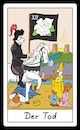 Cartoon: Der Tod (small) by Rob tagged tarot,card,cards,karte,karten,tod,death,spiel,game