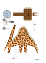 Cartoon: GIRAFFE (small) by ali tagged giraffe,kameelperd,giraffa,giraf,zoo,animal,africa,wild,tier,afrika,steppe,savanne,tierpark