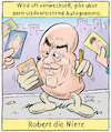 Cartoon: Robert die Niere (small) by Oliver Gerke tagged schauspieler,robert,de,niro,wortspiel,autogramm,niere