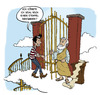 Cartoon: Stairway To Heaven (small) by Steffen Elbing tagged petrus,tod,himmel,wolke,stempel,tor,treppe,heaven,stairway,stamp,party