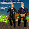 Cartoon: Airbus Piloten (small) by PuzzleVisions tagged puzzlevisions,künstliche,intelligenz,artificial,intelligence,piloten,pilots,airbus,donald,trump,stewardess,kümmern,care