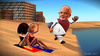 Cartoon: Surfer dude Narendra Modi (small) by TwoEyeHead tagged narendra,modi,india,australia,surfing