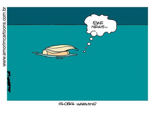 Cartoon: Sea levels (medium) by Amorim tagged sea,levels