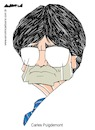 Cartoon: Carles Puigdemont (small) by Amorim tagged carles,puigdemont,catalonia