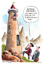 Cartoon: Rapunzel (small) by Ian Baker tagged rapunzel,hair,fairy,tale,exhibition