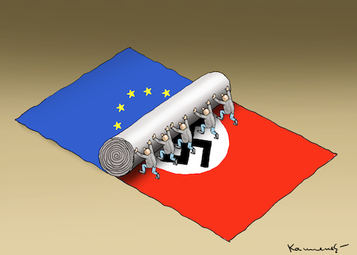 Cartoon: NAZIS (medium) by marian kamensky tagged nazis,afd,nazis,afd