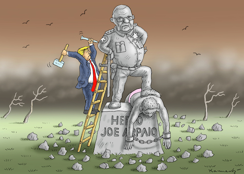 Cartoon: SHERIFF JOE ARPAIO (medium) by marian kamensky tagged obama,trump,präsidentenwahlen,usa,baba,vanga,republikaner,inauguration,demokraten,charlottesville,sheriff,joe,arpaio,wikileaks,faschismus,obama,trump,präsidentenwahlen,usa,baba,vanga,republikaner,inauguration,demokraten,charlottesville,sheriff,joe,arpaio,wikileaks,faschismus