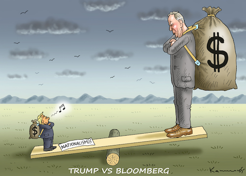 TRUMP VS BLOOMBERG