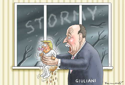 Cartoon: TRUMPS NEUER ANWALT (medium) by marian kamensky tagged trump,scandal,stephanie,clifford,stormy,daniels,corruption,giuliani,trump,porn,scandal,sex,stephanie,clifford,stormy,daniels,corruption,giuliani