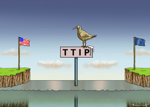 Cartoon: TTIP (medium) by marian kamensky tagged ttip,leak,greenpeace,freihandelsabkommen,ttip,leak,greenpeace,freihandelsabkommen