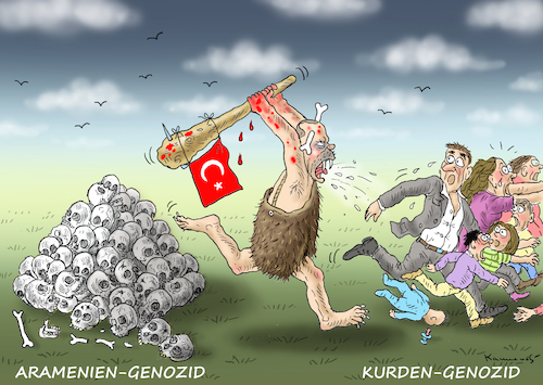 Cartoon: VÖLKERMÖRDER ERDOWAHN (medium) by marian kamensky tagged afrin,kurden,erdogan,syrien,aramenien,genozid,afrin,kurden,erdogan,syrien,aramenien,genozid