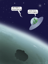 Cartoon: Aliens in Gulf of Mexico (small) by marian kamensky tagged gulf,mexico,bp,oil