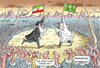 Cartoon: ARMAGEDDON (small) by marian kamensky tagged saudi,arabien,iran,armageddon,stellvertreterkrieg
