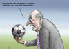 Cartoon: BLATTERS RÜCKTRITT (small) by marian kamensky tagged fbi,und,blatter,fifa,fussbal,korruption,rücktritt