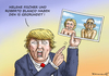 Cartoon: DIE IS GRÜNDER (small) by marian kamensky tagged obama,trump,präsidentenwahlen,usa,baba,vanga,republikaner,demokraten,faschismus