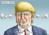 Cartoon: DONALD TRUMP (small) by marian kamensky tagged präsident,donald,trump,repiblikaner,präsidentenwahl,in,amerika