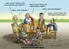 Cartoon: FASCHISTENSTAMMTISCH (small) by marian kamensky tagged cameron,brexit,eu,joe,cox,ukip,nationalismus