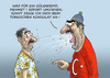 Cartoon: GÜLEN HEMD (small) by marian kamensky tagged erdogan,putscch,gülen,nationalismus,verfolgung