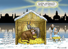 Cartoon: HEILIGE NACHT IN DRESDEN (small) by marian kamensky tagged heilige,nacht,in,dresden