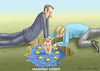Cartoon: MANFRED WEBER SCHWINDET (small) by marian kamensky tagged brexit,theresa,may,england,eu,schottland,weicher,wahlen,boris,johnson,nigel,farage,ostern,seidenstrasse,xi,jinping,referendum,trump,monsanto,bayer,glyphosa,strafzölle,manfred,weber