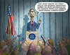 Cartoon: Obama macht ernst (small) by marian kamensky tagged bagdad,isis,obama,truppenabzug,irak,krieg