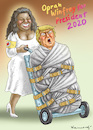 Cartoon: OPRAH WINFREY FOR PRESIDENT 2020 (small) by marian kamensky tagged oprah,winfrey,for,president,2020