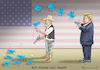Cartoon: ROY MOORE AND TRUMP (small) by marian kamensky tagged obama trump präsidentenwahlen usa baba vanga republikaner inauguration demokraten roy moore and wikileaks faschismus