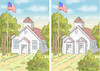 Cartoon: SUTHERLAND SPRINGS (small) by marian kamensky tagged sutherland,springs