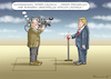 Cartoon: TRUMPS INTERVIEW (small) by marian kamensky tagged obama,trump,präsidentenwahlen,usa,baba,vanga,republikaner,inauguration,demokraten,fbi,james,comey,wikileaks,faschismus