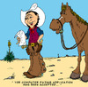Cartoon: Buckshot by Kid Cardona (small) by kidcardona tagged comic cartoon western horse cowboy
