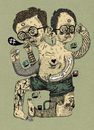 Cartoon: _ (small) by the_pearpicker tagged pearpicker,illustration,drawing,mutation