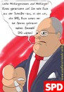Cartoon: SPD (small) by Fury tagged bundestagswahl,cartoon,fettnapf,frank,walter,steinmeier,genosse,karikatur,klartext,merkel,parodie,peer,steinbrück,persiflage,politik,politsatire,satire,sigmar,gabriel,spd,wahl,wahlwerbung
