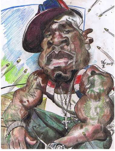 Cartoon: Curtis Jackson 50 Cent (medium) by RoyCaricaturas tagged 50cent,music,hiphop