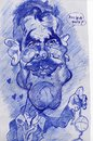 Cartoon: George Clooney scribble (small) by RoyCaricaturas tagged george clooney famous hollywood actors films