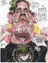 Cartoon: John Cena WWE wrestler (small) by RoyCaricaturas tagged wwe,cena,caricatura