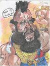 Cartoon: MR T (small) by RoyCaricaturas tagged mr,mario,barakus,team,celebrities,actors