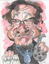 Cartoon: Robin Williams (small) by RoyCaricaturas tagged caricatura,robin,williams,actores