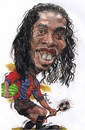 Cartoon: Ronaldinho smile (small) by RoyCaricaturas tagged ronaldinho,barca,brazil,soccer