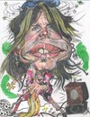 Cartoon: Steven Tyler - Aerosmith (small) by RoyCaricaturas tagged steven,tyler,caricatura,musicos