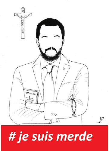 Cartoon: Matteo Salvini (medium) by paolo lombardi tagged italy