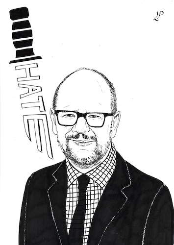Cartoon: Pawel Adamowicz (medium) by paolo lombardi tagged poland,europe